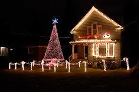 christmas house lighting ideas. Christmas Lights House Interior Design Ideas Style Homes Rooms Lighting A