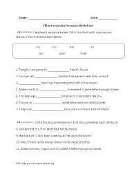 Subject-and-object-pronouns-worksheet & SUBJECT AND OBJECT ...
