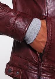 oakwood casey leather jacket bordeaux men clothing jackets oakwood aloe vera coat conditioner