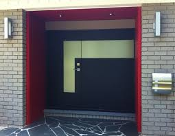 modern entry doors with sidelights. The Best Black Wooden Double Entry Doors Connected By Grey Brick Wall And Pics For Modern With Sidelights