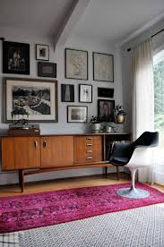 mid century modern wall decor ideas walls living room rug furniture trends pertaining merements por paint