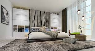Bedroom:Minimalist Black And White Bedroom Design Ideas With Fresh  Wallpaper Design Minimalist Style Bedroom