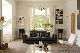 dark furniture living room. Via Dark Furniture Living Room