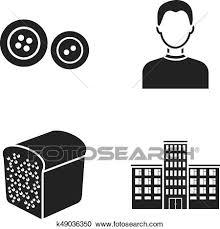 スタイル パン屋 そして あるいは 網 アイコン 中に 黒 Style 専門職 教育 アイコン 中に セット