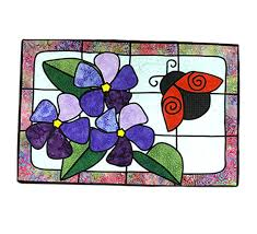 stained glass applique with lynn class with kit
