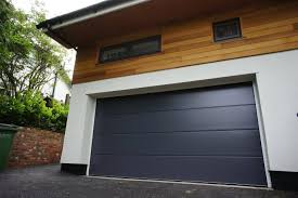 modern garage door. Sectional Garage Doors Combine Superb Functionality With Aesthetically Pleasing And Stylish Features. Georgian Panel Doors, Aluminium Steel Modern Door