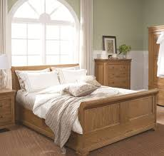 Sleigh Bed King | Kids Sleigh | Cherry Sleigh Bed