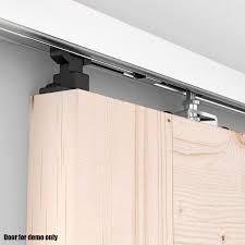 sliding door hardware. Voilamart 4M Aluminum Alloy Sliding Door Track Barn Hardware Home Office Interior Closet S
