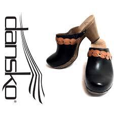 Dansko Two Tone Leather Mules