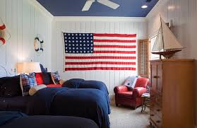 4th Of July Patriotic Bedroom