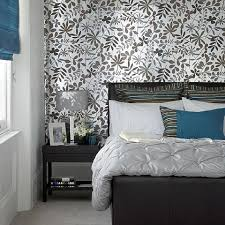 Silver Wallpaper Bedroom How To Decorate With Metallics In The Bedroom