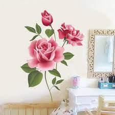 Romantic Rose Flower Love 3d Wall ...