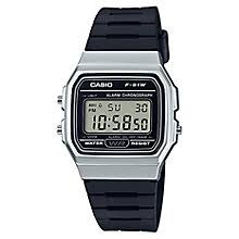 casio watches edifice g shock solar digital h samuel casio men s black resin strap silver case digital watch product number 6251013