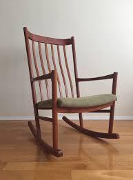 image of original teak rocking chair