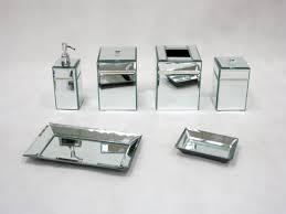 modern bathroom accessories sets. Mirrored Bathroom Accessories Sets Home Modern