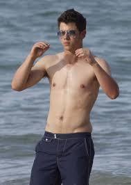 Jonas brothers hairy armpits