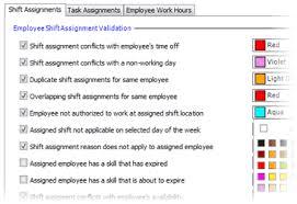 Shift Assignment Workforce Scheduling Software Snapschedule Premium
