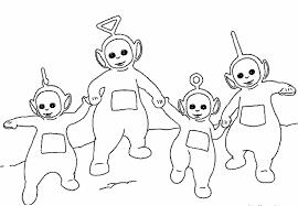 Small Picture Teletubbies Coloring Pages Tv Films 19496 Bestofcoloringcom