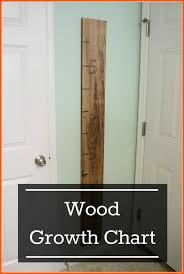 Wood Growth Chart Diy Mama