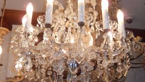 vintage twelve light chandelier