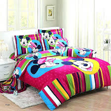 minnie mouse twin bed set mouse twin bedding set toddler bed unique mouse comforter set for