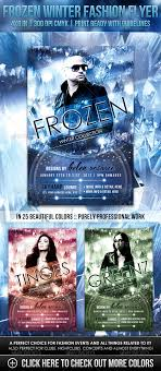 frozen winter fashion flyer startupstacks com frozen winter fashion flyer