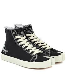 Margiela Size Chart Tabi Canvas Sneakers