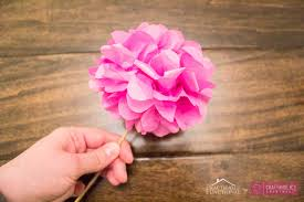 How To Make A Flower Out Of Tissue Paper Step By Step Craftaholics Anonymous Diy Tissue Paper Flowers Tutorial