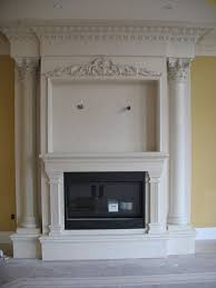 fireplace don t want one that ornate but i like the framing for the