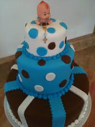 Hectors Custom Cakes Baby Boy Shower Tier 3 Tier Baby Boy Shower