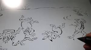 鳥獣戯画でドラえもんを デイリーポータルz