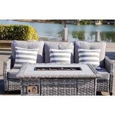 fire pit and grey cushions modaf 1802