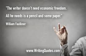 William Faulkner Quotes Mesmerizing William Faulkner Quotes Economic Freedom