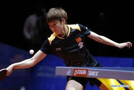 austria during their women s group quarterfinal match during 2018 world team table tennis championships in halmstad sweden may 3 2018 photo xinhua