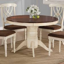 painted wood dining room chairs. coaster cameron cottage two-tone round pedestal dining table side chair set painted wood room chairs e