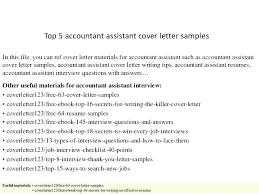 Sample Cover Letter For Accounting Position Sample Cover Letter For