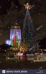 Christmas Tree Lighting Houston Christmas Tree Lights And Houston City Hall Light In