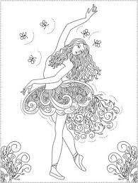 Small Picture Best 25 Ballerina coloring pages ideas on Pinterest Ballet for