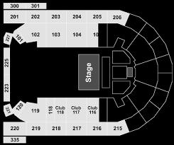 Mohegan Arena Seating Chart Mohegan Sun Arena Seating Chart With Rows Consol Seating