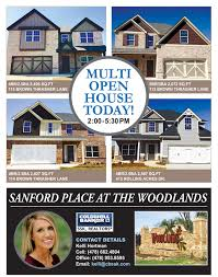 realtor open house flyers realtor open house flyer design and printing palmetto blended media