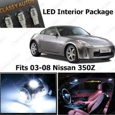 2003 nissan 350z interior. amazoncom classy autos nissan 350z white interior led package 5 pieces automotive 2003 350z