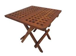 teak small tables round outdoor end teak folding table and chairs scandinavian teak dining