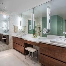 stylish modular wooden bathroom vanity. Chic Master Bathroom Jade Contemporary Design Interior Decorated With Wooden Modern Vanities Furniture Ideas Stylish Modular Vanity