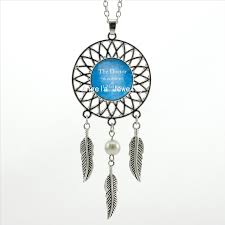 Dream Catcher Definition 100 Trendy Style Blue Dictionary Definition Necklace Doctor Who 89