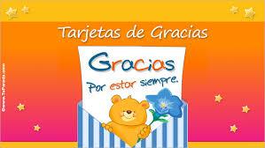 Tarjetas De Gracias Postales De Agradecimiento Tarjetas Animadas