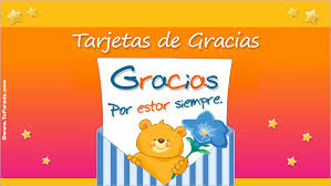 tarjeta de agradecimientos tarjetas de gracias postales de agradecimiento tarjetas animadas