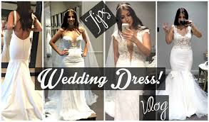 Finding My Wedding Dress Tips Trying On Dresses Vlog More