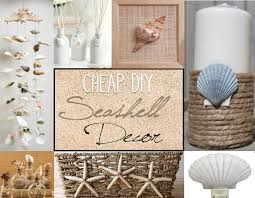 I live by the beach so shells are cheap and easy to find here. I was able  to create seashell bathroom decor without spending much money.