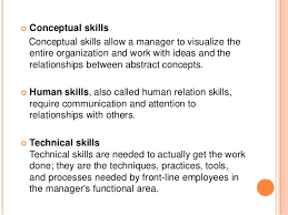 types of management skills managerial skills and styles