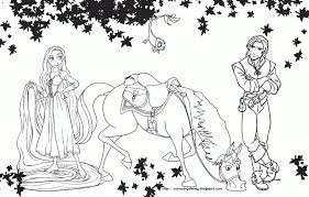 Small Picture Pascal Maximus Flynn And Rapunzel Tangled Coloring Page Bebo Pandco